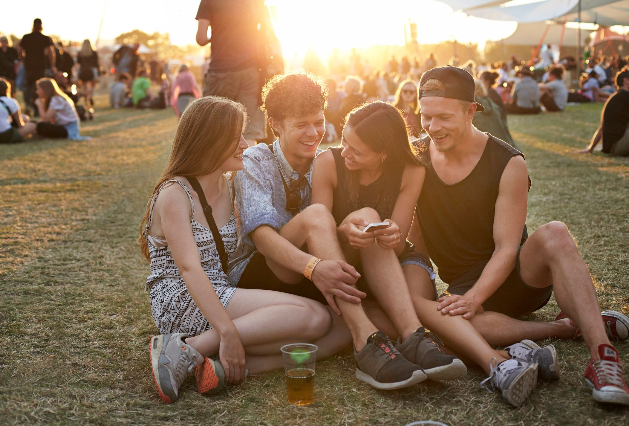 Dehydration and drug use aremajor problems at music festivals.