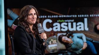 NEW YORK, NY - JUNE 27:  Actress Michaela Watkins discusses 'Casual' with AOL Build at AOL Studios In New York on June 27, 2016 in New York City.  (Photo by Roy Rochlin/FilmMagic)
