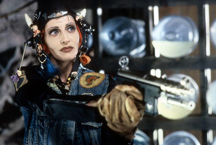 """Lori Petty stars in a scene from 1995's """"Tank Girl."""""""