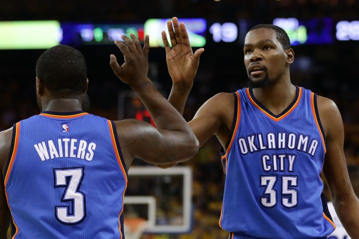 Kevin Durant's best option is to remain in Oklahoma City.