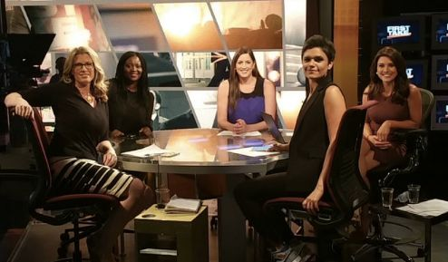 "ESPN's ""First Take"" featured an all-female panel Wednesday -- a choice with which some viewers took issue."