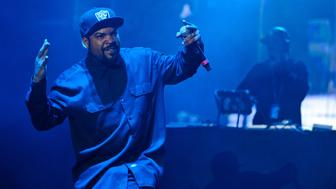 CINCINNATI, OH - JUNE 04:  Ice Cube performs at the 2016 Bunbury Festival on June 4, 2016 in Cincinnati, Ohio.  (Photo by Timothy Hiatt/Getty Images)