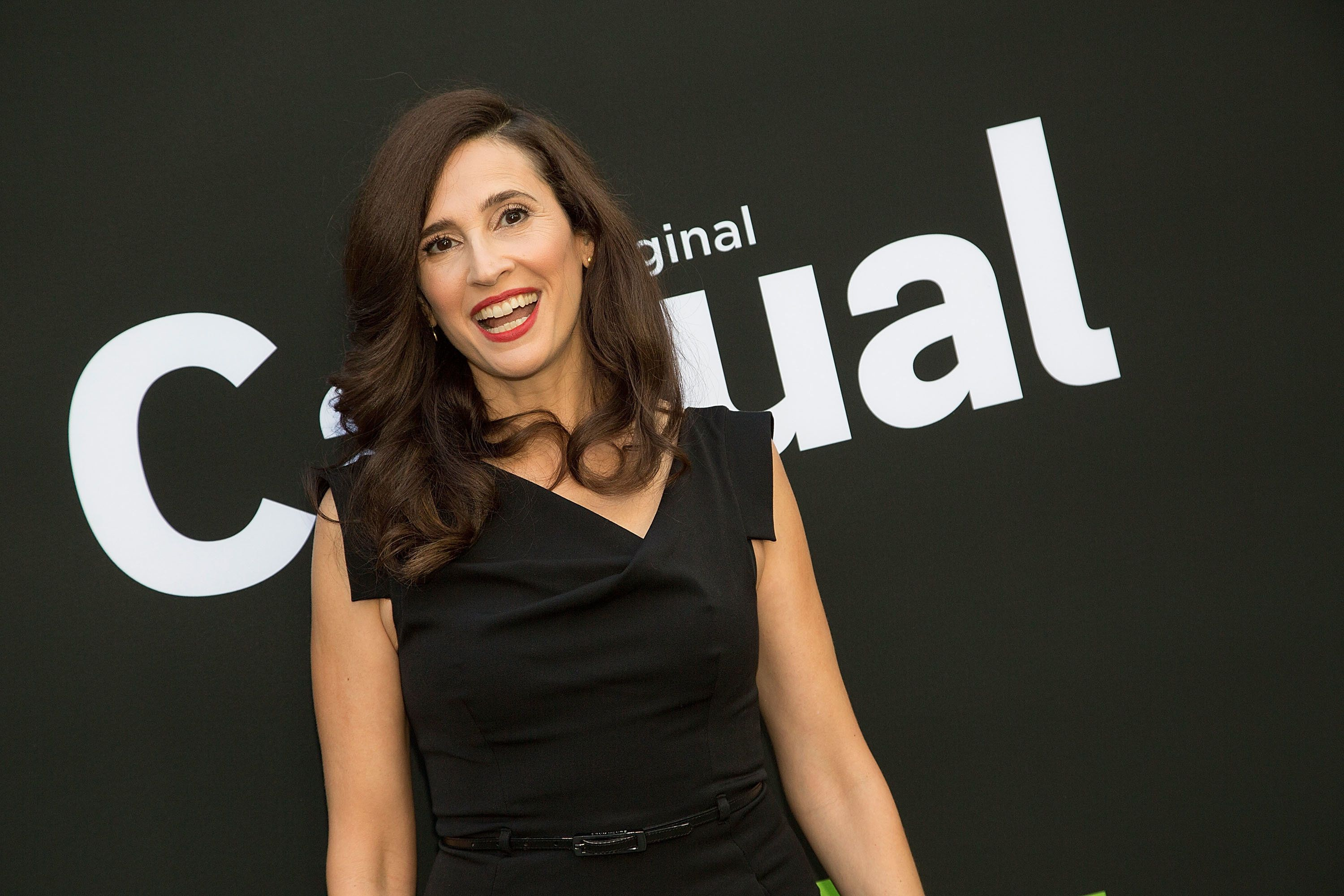 HOLLYWOOD, CA - JUNE 06:  Michaela Watkins arrives to the premiere of Hulu's 'Casual' Season 2 at ArcLight Hollywood on June 6, 2016 in Hollywood, California.  (Photo by Gabriel Olsen/Getty Images)