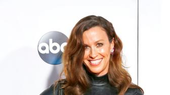 LOS ANGELES, CA - NOVEMBER 22: Alanis Morissette arrives at the 2015 American Music Awards at Microsoft Theater on November 22, 2015 in Los Angeles, California.  PHOTOGRAPH BY John Rasimus / Barcroft Media  UK Office, London. T +44 845 370 2233 W www.barcroftmedia.com  USA Office, New York City. T +1 212 796 2458 W www.barcroftusa.com  Indian Office, Delhi. T +91 11 4053 2429 W www.barcroftindia.com (Photo credit should read John Rasimus / Barcroft Media / Barcroft Media via Getty Images)