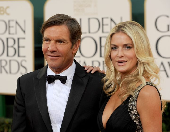 Dennis Quaid and Kimberly Buffington-Quaid wed in 2004.