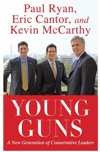 Reps. Paul Ryan (R-Wis.), Eric Cantor (R-Va.) and Kevin McCarthy (R-Calif.)coauthored their 2010 book.