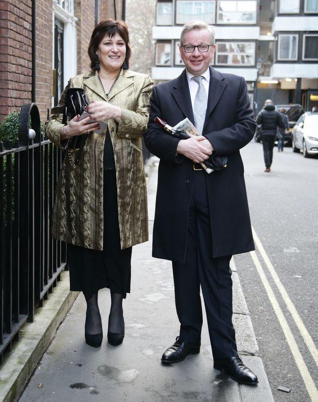 Michael Gove and his wife Sarah