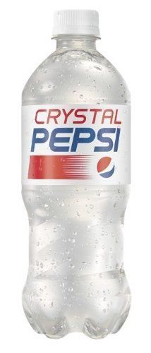 Crystal Pepsi will be available for a limited time in Canada and the U.S. this summer. (PRNewsFoto/PepsiCo)