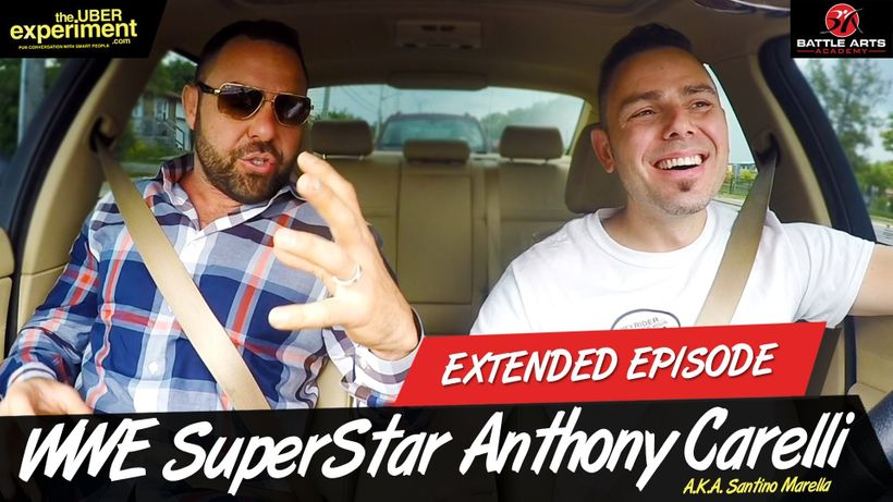 Huffinton Post Feature : WWE Superstar Anthony Carelli (AKA Santino Marella) Talks Wrestling, Entrepreneurship, Family & Political Future on The Uber Experiment.