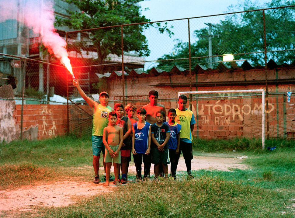 "Many of Rio de Janiero's poorest residents have been forced from their homes ahead of the World Cup and Olympics. ""These"