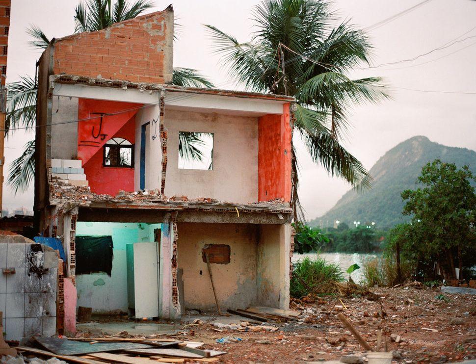 Former home, Favela Vila Autódromo, Rio de Janeiro, 2015.