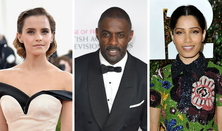 Emma Watson, Idris Elba and Freida Pinto are among this year's invitees.