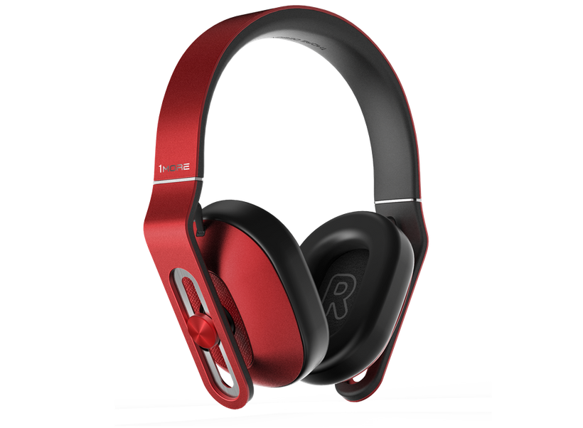 <i>1MORE MK801-RD Over Ear Headphones</i>