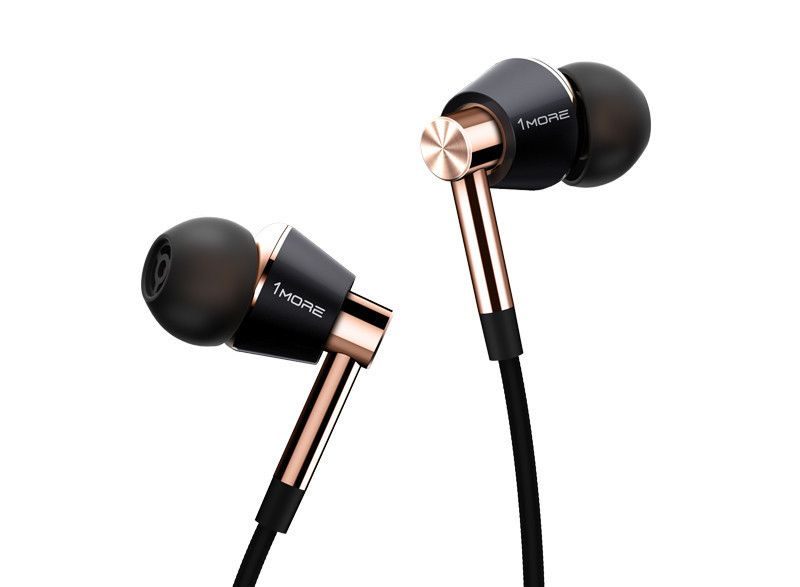 1More Triple Driver In-Ear Headphones with In-line Microphone