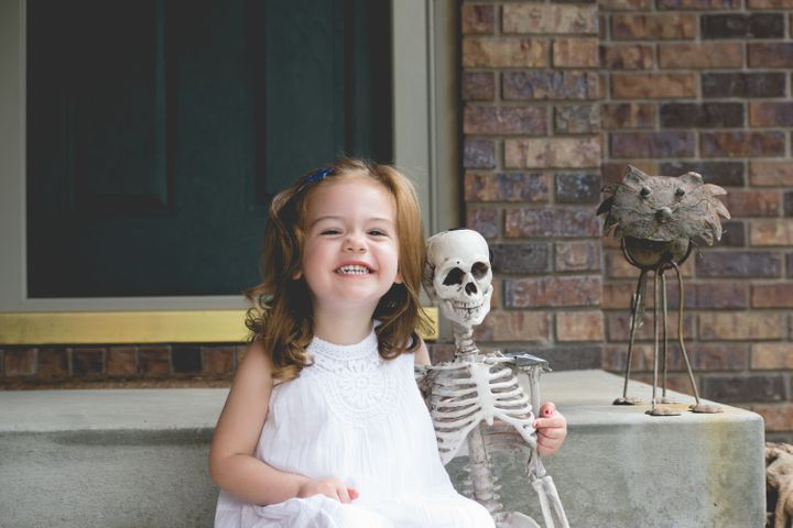 After her post went viral, the mom created a car seat safety-themed Facebook page called Mr. Bones Safety.