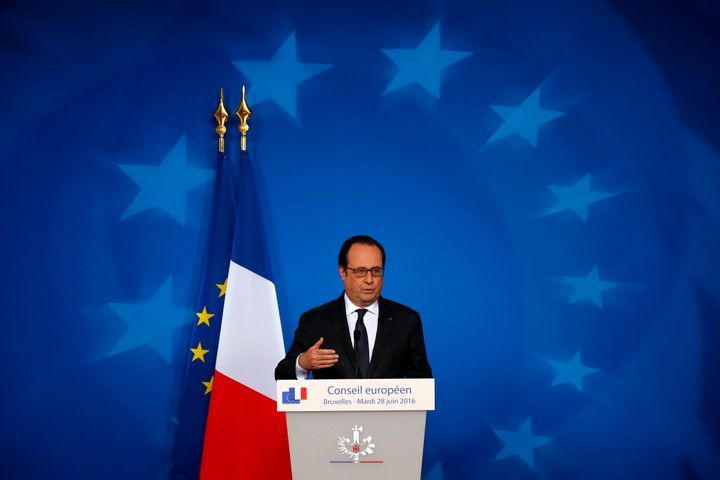 French President Francois Hollande saidnext year's presidential election will be the opportunity for voters to decide o
