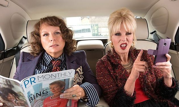 'Absolutely Fabulous Movie' Reviews Are In... And It's Ab Fab News For Edina And Patsy's Big Screen