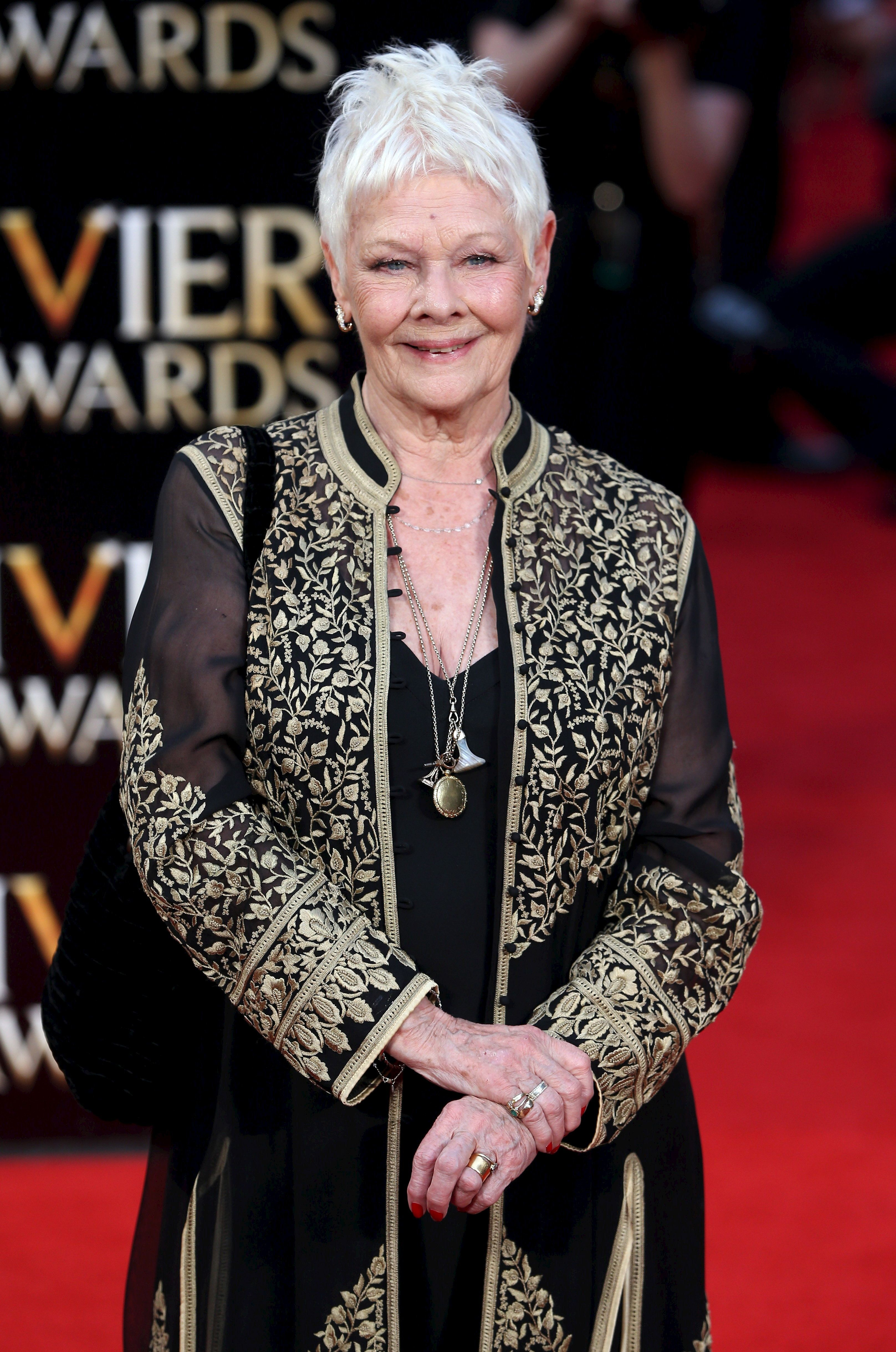 Judi Dench Celebrated Her 81st Birthday With Her First Ever
