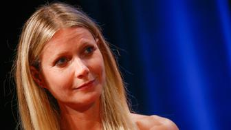 CANNES, FRANCE - JUNE 22:  Actress Gwyneth Paltrow is interviewed by Stephen Sackur during a special live-recording 'Hard Talk' hosted by BBC World News during The Cannes Lions Festival 2016 on June 22, 2016 in Cannes, France.  (Photo by Richard Bord/Getty Images)