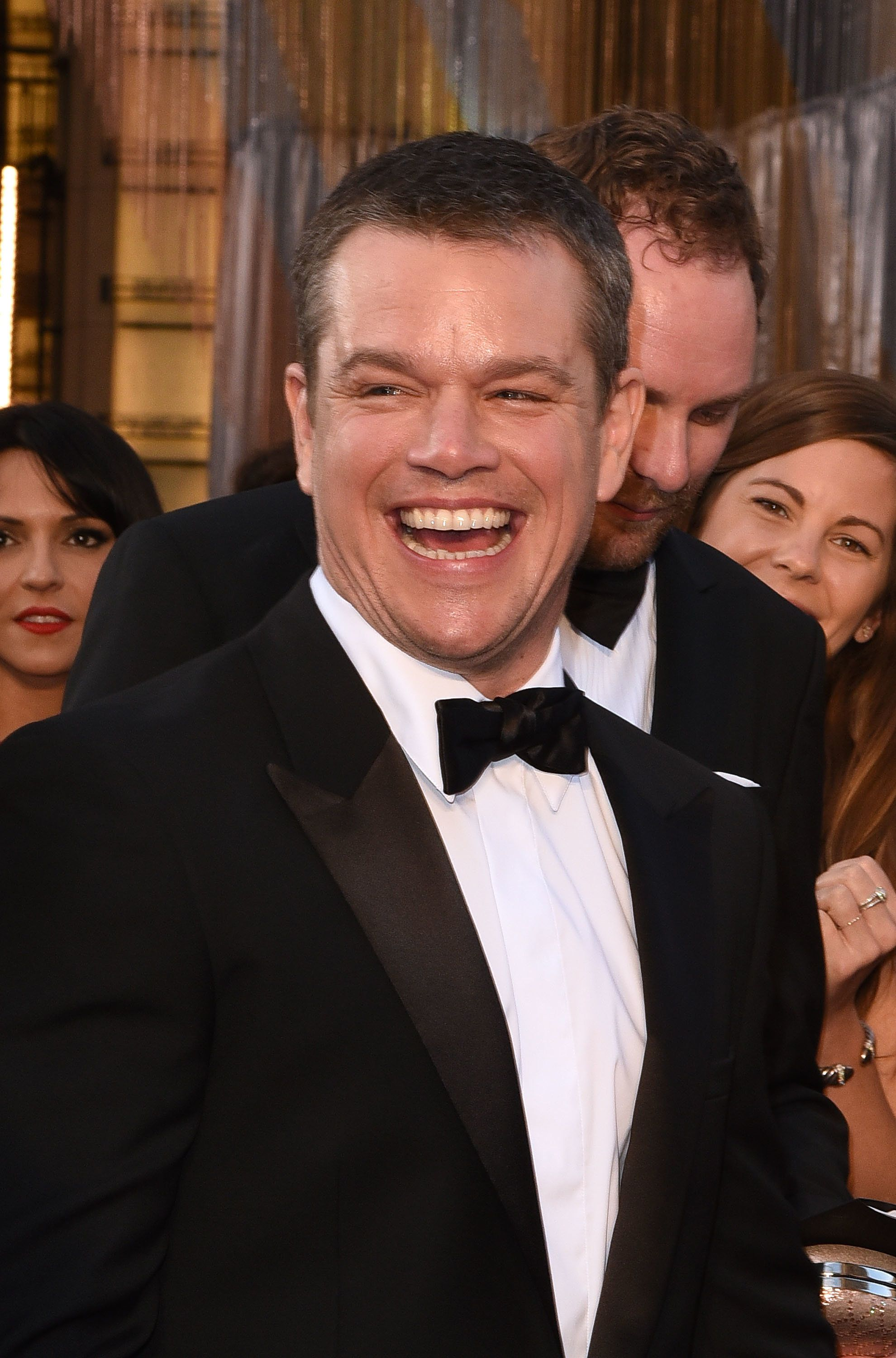 HOLLYWOOD, CA - FEBRUARY 28:  Actor Matt Damon attends the 88th Annual Academy Awards at the Hollywood & Highland Center on February 28, 2016 in Hollywood, California.  (Photo by C Flanigan/FilmMagic)