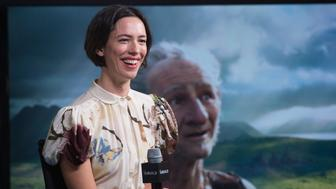 NEW YORK, NY - JUNE 28:  Actress Rebecca Hall visits AOL Build to discuss 'The BFG' at AOL Studios In New York on June 28, 2016 in New York City.  (Photo by Noam Galai/WireImage)