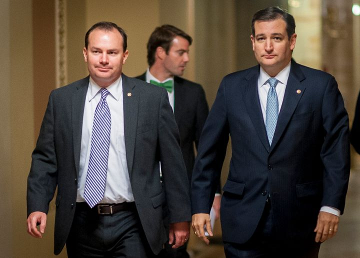 Sen. Mike Lee (R-Utah) thinks his bud Ted Cruz would be a good VP choice.