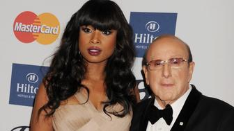LOS ANGELES, CA - FEBRUARY 09: Singer/actress Jennifer Hudson and Music Industry Icon/Chief Creative Officer of Sony Music Entertainment Clive Davis arrive at the The 55th Annual GRAMMY Awards - Pre-GRAMMY Gala And Salute To Industry Icons Honoring L.A. Reid at the Beverly Hilton Hotel on February 9, 2013 in Los Angeles, California. (Photo by Jeffrey Mayer/WireImage)