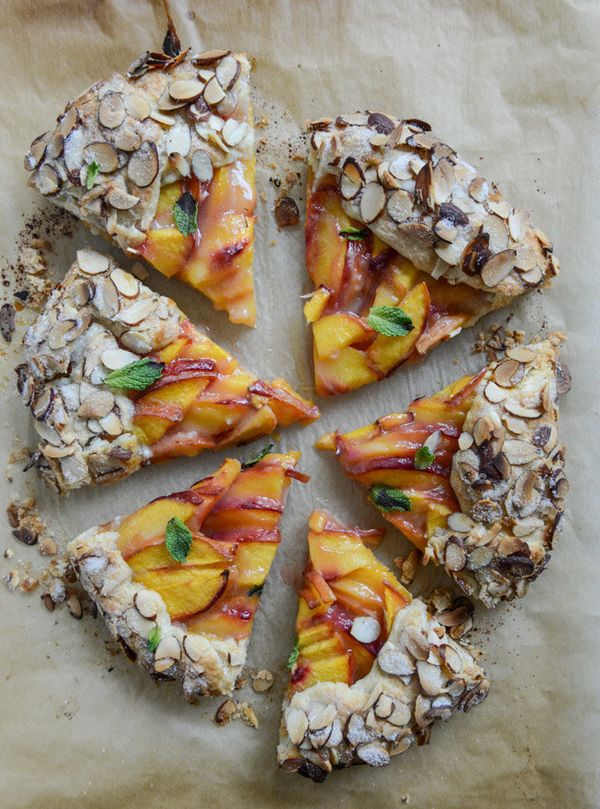 "<strong>Get the <a href=""http://www.howsweeteats.com/2014/08/ginger-peach-galette-with-almond-crust/"" target=""_blank"">Ginger"