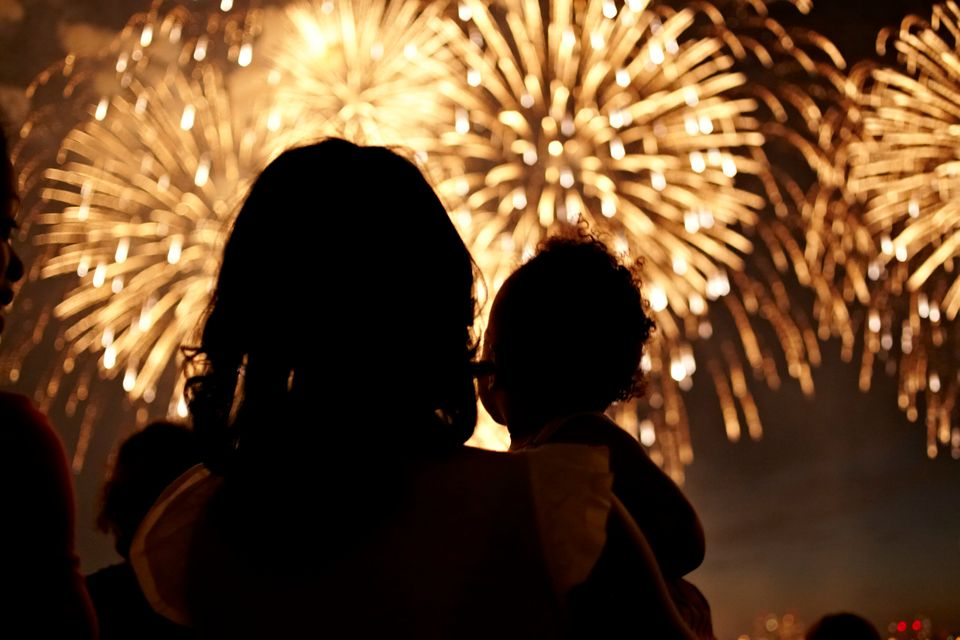 The big show can't start until it's dark out, but for some, that could mean delaying bedtime on the night of the Fourth. <br>