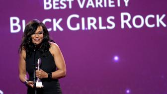 BEVERLY HILLS, CA - MAY 24: Honoree Beverly Bond accepts the award for Outstanding Variety onstage during the 41st Annual Gracie Awards at Regent Beverly Wilshire Hotel on May 24, 2016 in Beverly Hills, California.  (Photo by Tommaso Boddi/Getty Images for Alliance for Women in Media)