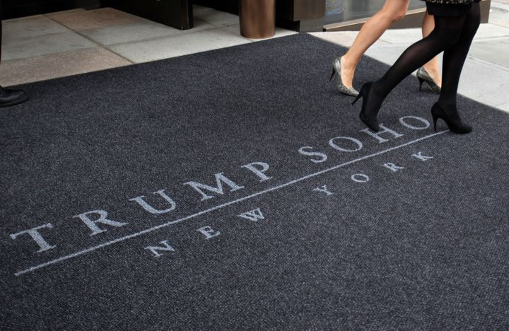 The Trump Soho is one of five U.S. Trump Hotel Collection properties not included on the Hotel-Motel National Master Lis