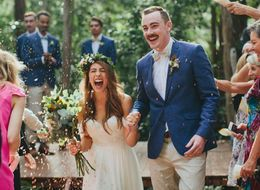 23 Couples Who Looked Head Over Heels In Love On Their Wedding Days