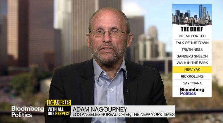 New York Times reporter Adam Nagourney will turn his focus inward for a forthcoming book aboutthe Times.