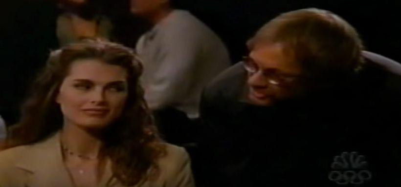 Warren Zevon alongside&nbsp;<i>Suddenly Susan&nbsp;</i>star Brook Shields.