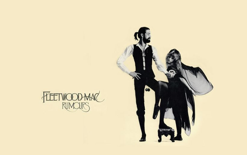 Cover art for Fleetwood Mac's hit album&nbsp;<i>Rumours.</i>