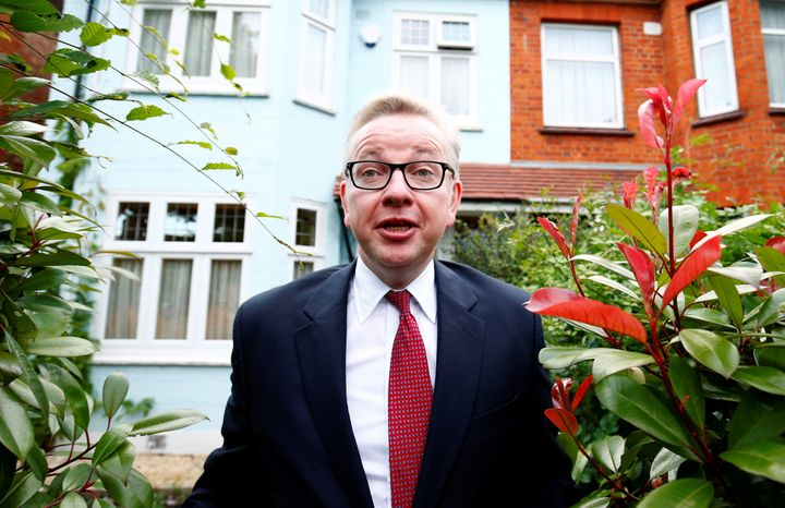 Michael Gove, the U.K. justice secretary and Boris Johnson's right-hand man during the campaign, made a surprise announc