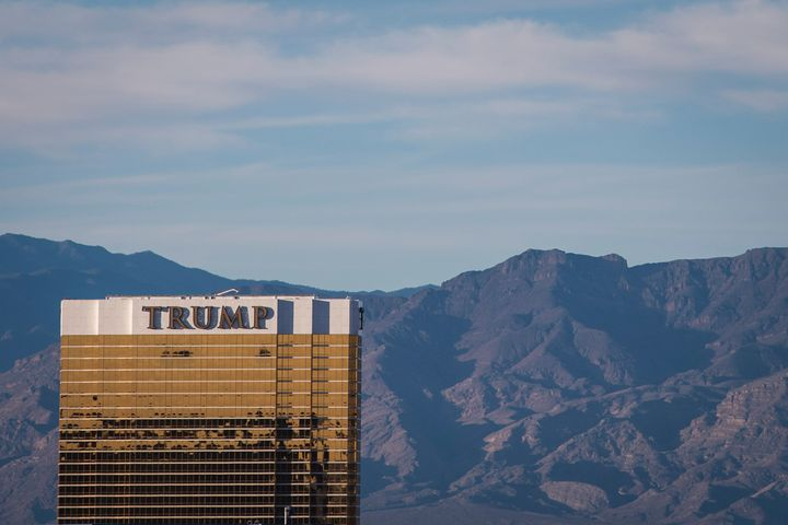 The Trump International Hotel Las Vegas. It's one of the five U.S. properties in the Trump Hotel Collection not on the federa