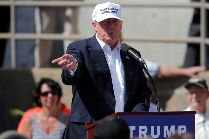 Presumptive GOP presidential nominee Donald Trump says anti-Trump GOP delegates' efforts to dump him at the Republican Nation