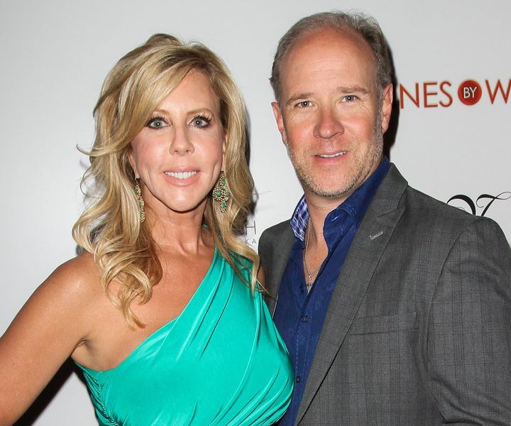 Gunvalson and Ayers together in 2012.