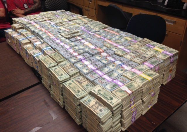 Prosecutors say they found more than $20 million in cash after searching Gonzalez's home and business.