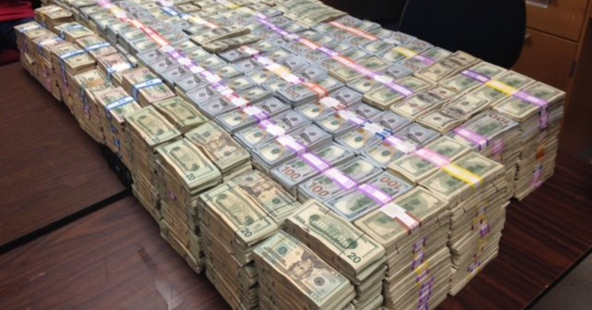 Alleged Drug Bust Nets More Than $20 Million Cash Found In ... - photo#28