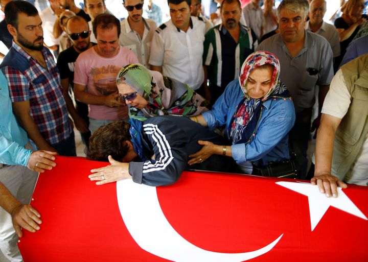 Turkey is grieving the loss of 44 people killed in a triple suicide bombing and gun attack on Istanbul Ataturk Airport on Tue