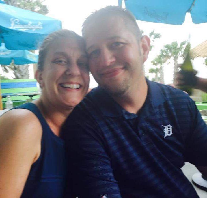 Stephanie and her husband Paul.