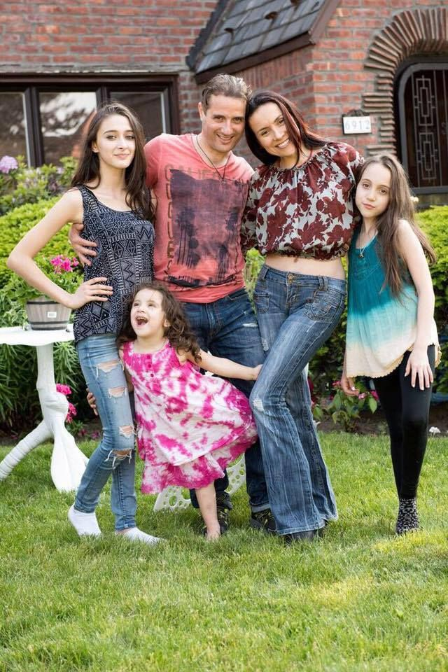 My beautiful family today, My stepdaughter Daniella, my Husband, me, our 10 yer old daughter Eliyah and our 3 year old daught