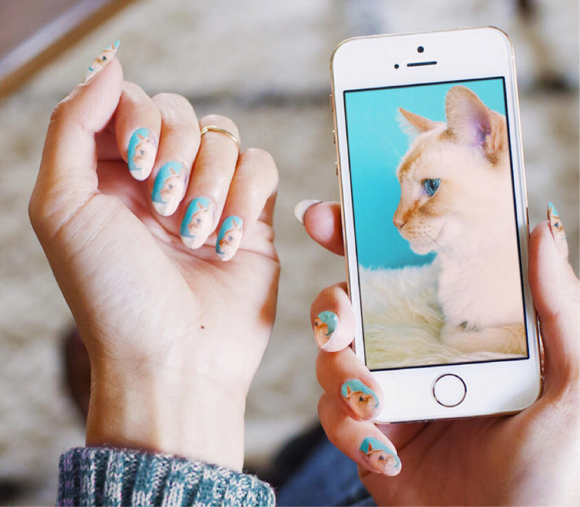 The appempowers customers to create nail art exactly the way they want it.