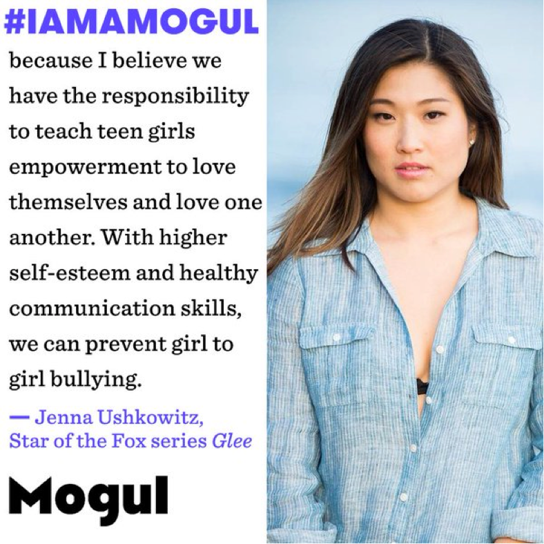 One example of Mogul leveraging influencers and ambassadors to spread a positive message to millions of women worldwide.