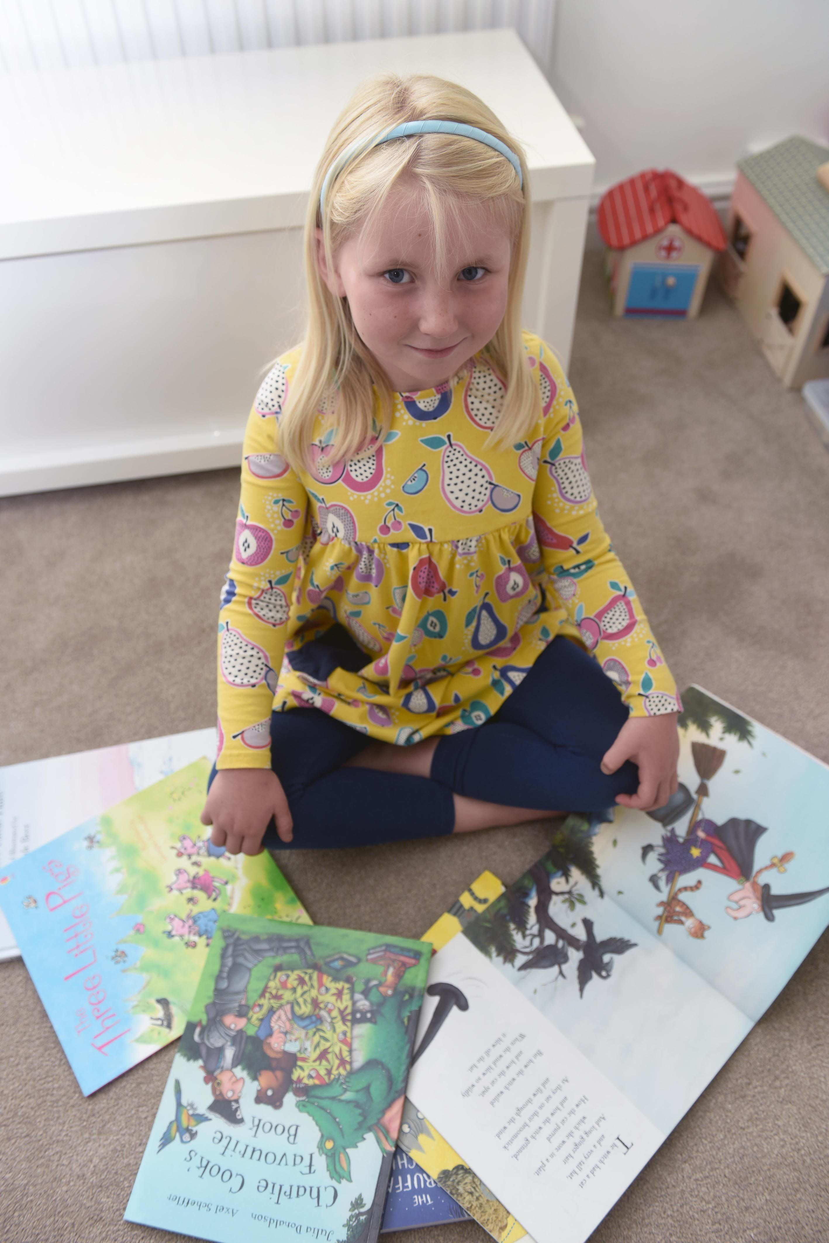 Girl Who Loves Books Forgets Words Immediately After She's Read Them Due To Rare