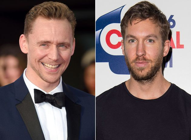 Tom Hiddleston and Calvin