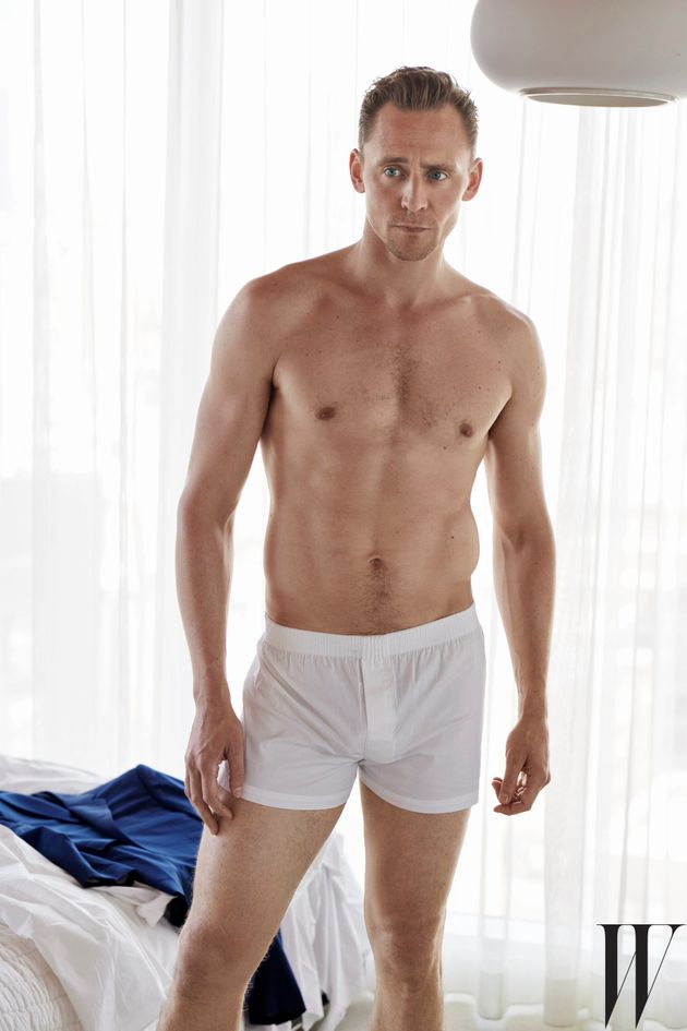 Tom posed in his pants for W magazine