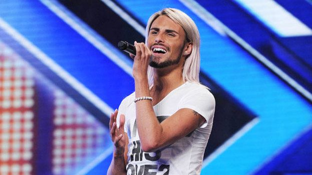Rylan was a contestant on 'The X Factor' in